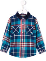 Familiar checked button up shirt