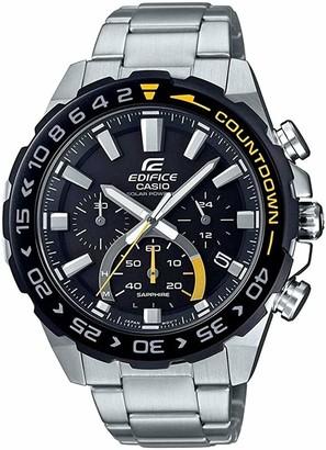 Casio Men's Chronograph Quartz Watch with Stainless Steel Strap EFS-S550DB-1AVUEF