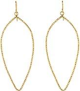 Dogeared Jewels Sparkle Petal Earrings (Sterling Silver) - Jewelry