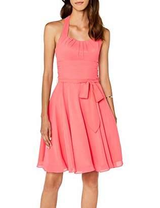 Astrapahl womens co8002ap Knee-Length Plain Cocktail Sleeveless Dress,(Manufacturer Size: 36)