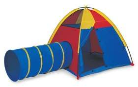 Pacific Play Tents Hide-Me Play Tent & Tunnel Combo