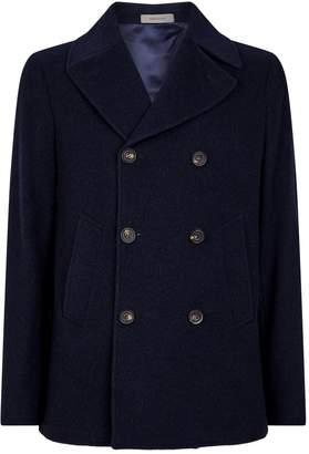 Corneliani Double-Breasted Cashmere Jacket