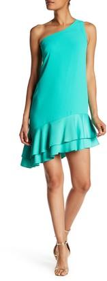 Trina Turk Lunara Asymmetrical Hem Dress