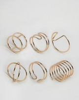 Aldo Barkerville Stacking Rings