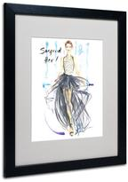 """Home Marketplace Jennifer Lilya """"Suspend Her"""" Framed Art"""