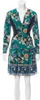 Burberry Silk Mini Dress