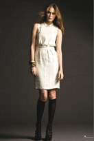 Twelfth St. By Cynthia Vincent Cynthia Vincent Kirin Vintage Embroidered Dress Ivory