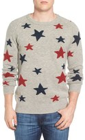 Scotch & Soda Men's Star Intarsia Wool Blend Sweater
