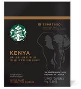 Starbucks VerismoTM 12-Count Kenya Single Origin Espresso Pods