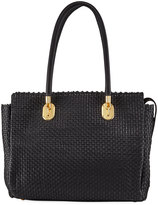 Cole Haan Benson II Woven Work Tote Bag, Black