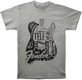 Bravado Fender Men's 23 Tele T-shirt Heather