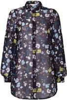 Yumi Sheer Floral Tunic Top