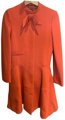 NW3 by Hobbs Hobbs Orange Wool Coat for Women