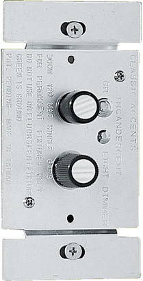 Rejuvenation Three-Way Push-Button Dimmer