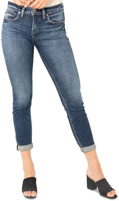Silver Jeans Co. Slim-Leg Boyfriend Jeans