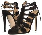 CHLOE GOSSELIN - Calico Calf Suede Closed Toe Heel High Heels