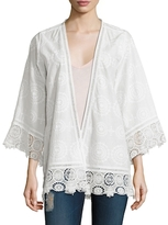Calypso St. Barth Harada Cotton Embroidered Jacket