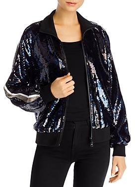 Pam & Gela Sequined Track Jacket