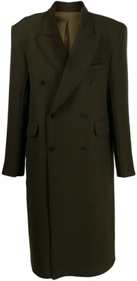 Cmmn Swdn Omar raw edge coat