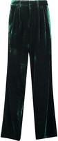 Raoul Velvet wide-leg pants