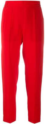 Etro Cropped Straight Leg Trousers