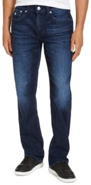 True Religion Men's Ricky Straight Leg Jeans With Flap Pocket