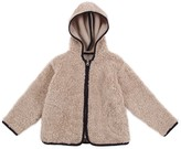 Babe & Tess Hooded fur style top