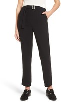 J.o.a. Women's Belted Ankle Pants