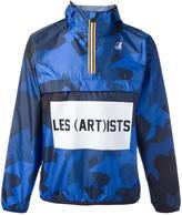 Les (Art)ists K-Way x logo print jacket