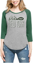 '47 Women's New York Jets Club Block Raglan T-Shirt
