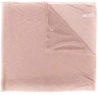 Liu Jo metallic thread scarf