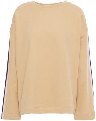 Chinti and Parker Striped French Cotton-terry Sweatshirt