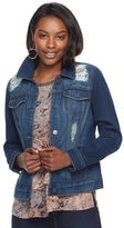 Juicy Couture Women's Embellished Jean Jacket