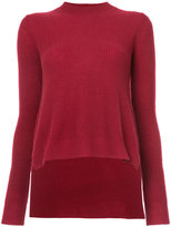 Rosetta Getty high low hem jumper
