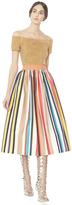 Alice + Olivia Nikola Full Midlength Skirt