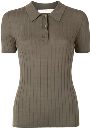Dion Lee Fine Knit Polo Shirt