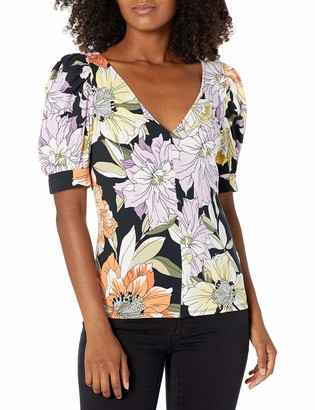 GUESS Women's Half Sleeve LYNZY TOP