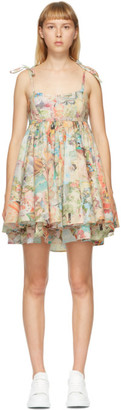 Marc Jacobs Multicolor The Babydoll Dress