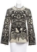 Jean Paul Gaultier Patterned Long Sleeve Sweater