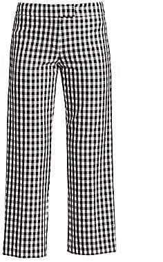 Derek Lam 10 Crosby Women's Gingham Flannel Pants - Size 0