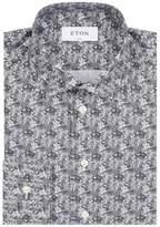 Eton Slim Fit Zebra Shirt