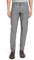 BOSS Men's Delaware Slim Fit Chambray Pants