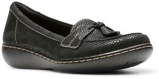 Clarks Ashland Bubble Snake-Embossed Leather Slip-On Loafer - Multiple Widths Available