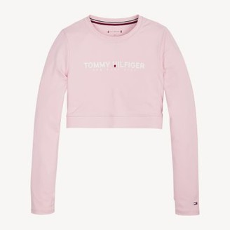Tommy Hilfiger Cropped Long Sleeve T-Shirt
