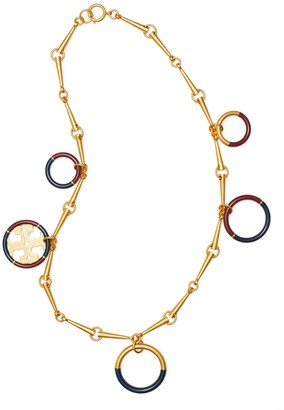 Tory Burch Miller Enameled Statement Necklace
