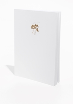 Gilt Poppy A4 Notebook