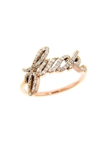 Campise F Diamond Ring