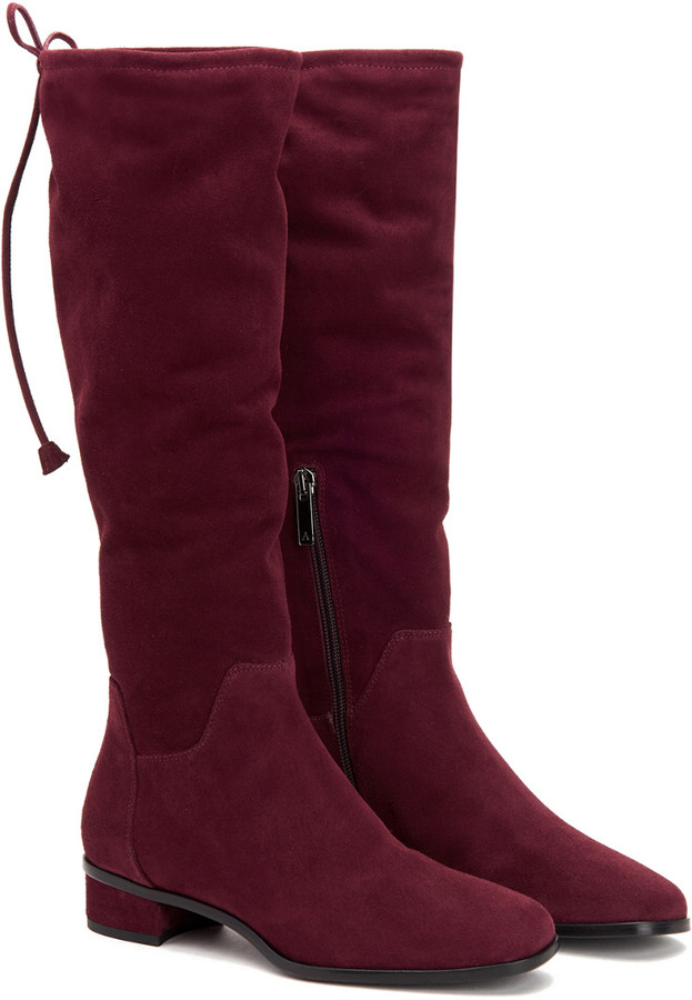Aquatalia Lisabetta Waterproof Suede Boot