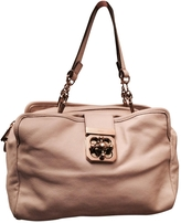 Chloé Ecru Leather Handbag Elsie