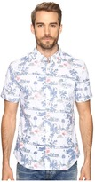 7 Diamonds Kauai Short Sleeve Shirt Men's Short Sleeve Button Up